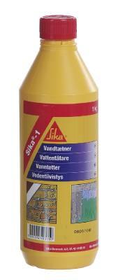 Vattentätande cementtillsats Sika-1
