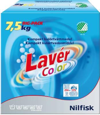 Maskintvättmedel Lavér Color