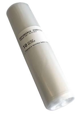 Sopsäck plast 125 och 240 liter transparent