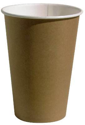 Hot drink cup paper