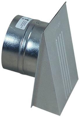 Ventilator hood with valve Flexit
