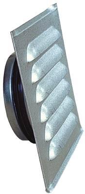 Fixed louvre steel Flexit