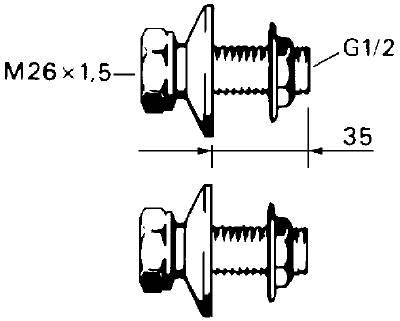 Anslutningskopplingar FMM 2822-1519