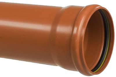 Markavloppsrör PVC