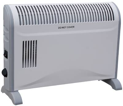 Convector radiator with fan
