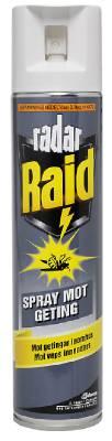 Getingspray Radar Raid