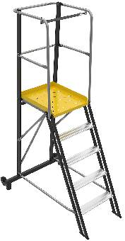Arbetsplattform WAP+TMR Wibe Ladders