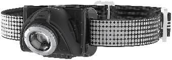 Pannlampa Ledlenser SEO7RB LED uppladdningsbar