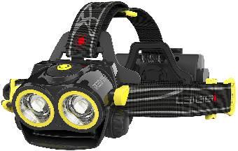 Pannlampa Ledlenser IXEO19R LED uppladdningsbar