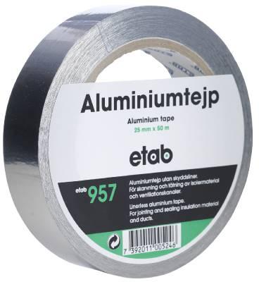 Aluminiumtejp ETAB 957