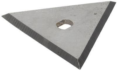 Steel blades for triangular scraper Anza