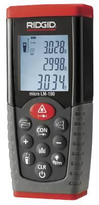 Avstandsmåler Ridgid LM-100