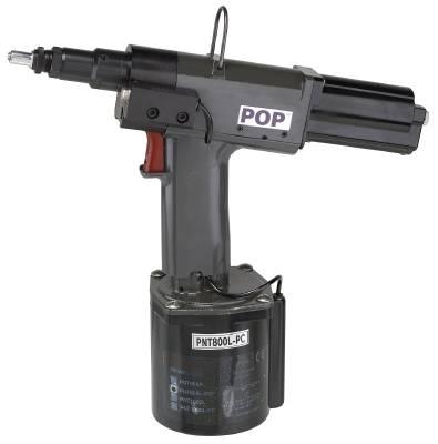 Monteringsverktyg för blindnitmuttrar. Emhart PNT 800 / 1000