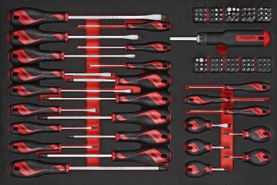 122 delars Skruvmejsel/bits sats Teng Tools TTEMD122N