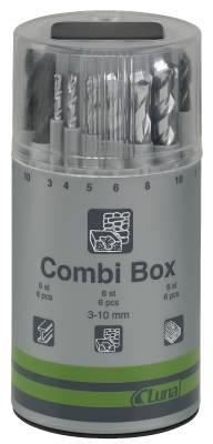 Borrsats Luna Kombi-Box
