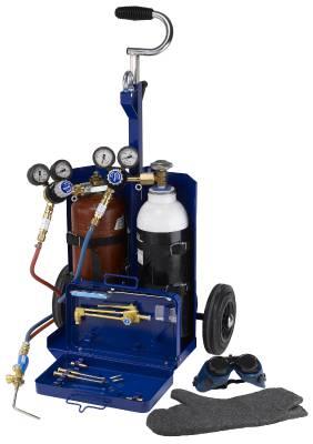 Transportabel gassvetsutrustning Elga/Gasiq Minicar