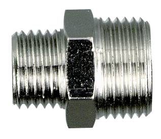 Double threaded adapter