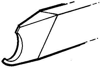 Ringsvarvjärn Crown Hand Tools