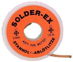 Desoldering wire Stannol Type Solder-Ex
