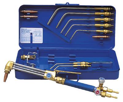 Comb. welding and cutting torch Elga/Gasiq according to the high pressure principle S 80