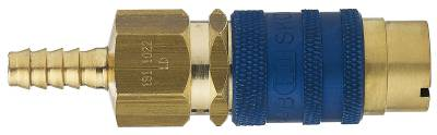 Gas coupling Series 181Cejn Blue oxygen