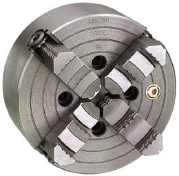 Jaw plate – cylindrical attachment for flange mounting Bison