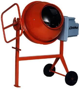 Concrete mixer 140 litres Lescha SM 145 S