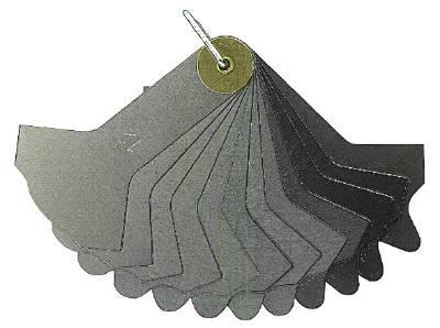 Welding seam gauge Limit