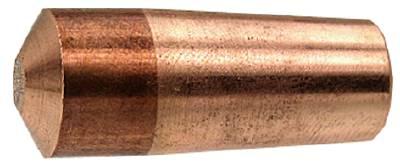 Punktsvetselektroder Hallborn koniskt fäste spetsvinkel 30° Ø13 mm