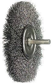 Circular brush with 6 mm stub axle Osborn