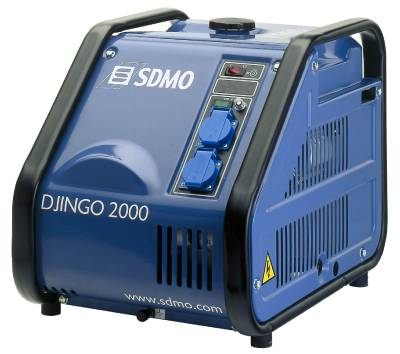 Elverk, bensindrivet SDMO