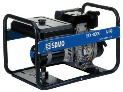 Elverk dieseldrivet SDMO