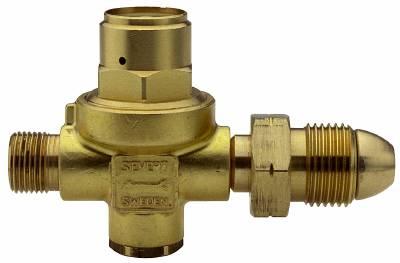 Regulator Sievert with fixed pressure