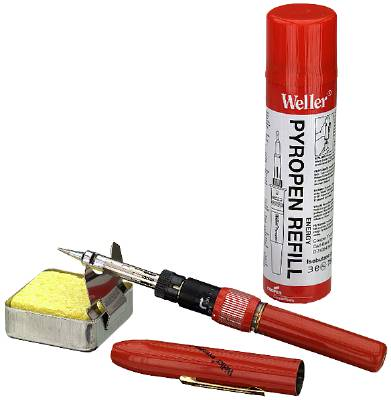 Soldering pen gas powered Weller – Apex Tool Group Pyropen junior WP 2