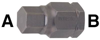 Insert drive for socket head cap screws. Momento 7/16 INCH - 1 3/4 INCH