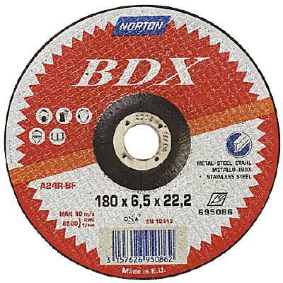 Depressed centre wheel for angle grinders Norton BDX-Stone