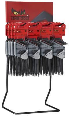 TX spanner sets in display Teng Tools DIS-1479TX