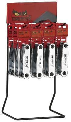 TX wrench sets in display Teng Tools DIS-1476NTX