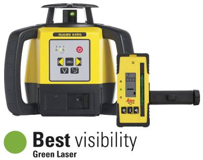 Rotary laser Leica Rugby 640G