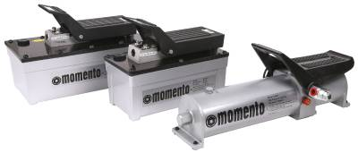 Compressed-air-driven pump Momento