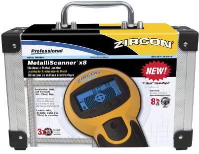 Regelsökare/Metallscanner X8 Zircon