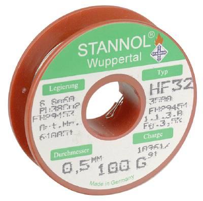 Lödtråd med flussmedel Stannol Typ HF 32 / 640