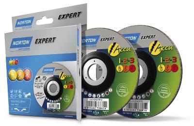 Cut-off wheels Norton Accu 1-2-3 Multi Purpose