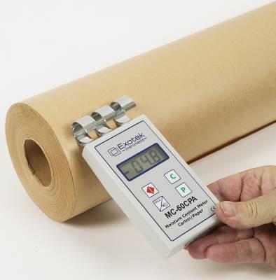 Fuktmätare för papper, kartong & wellpapp (oförstörande) Exotek MC-60CPA
