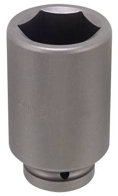Impact socket. With 1' square drive. Momento 9 L inch