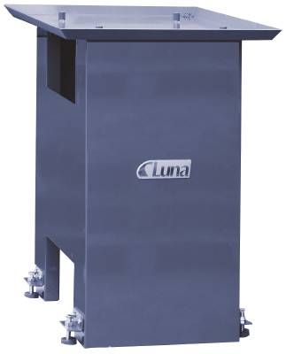 Support frame for drilling and milling machine Luna, power shears Luna and bending roller
