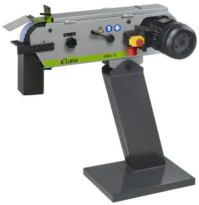 Belt sander for metal Luna MBG75 and MBG150