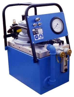 Hydraulisk pump för högmomentdragare Christie