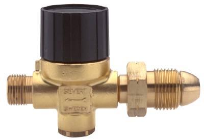 Regulator Sievert with adjustable pressure