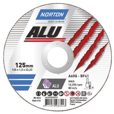 Cut-off wheel for aluminium Norton Alu